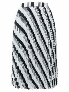 Balenciaga Sunray Pleated Skirt - Black