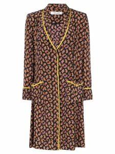 Diane von Furstenberg Georgette smoking jacket - Black
