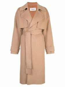 Diane von Furstenberg Lia belted trench coat - Brown