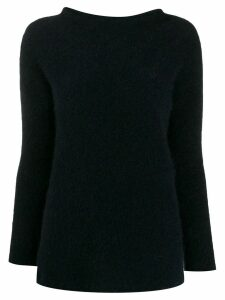 'S Max Mara funnel neck jumper - Blue
