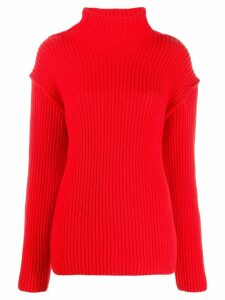 Tory Burch funnel neck sweater - Red