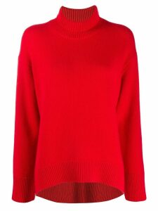 Sminfinity turtle neck sweater - Red