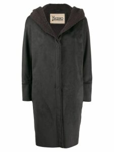 Herno faux shearling coat - Grey