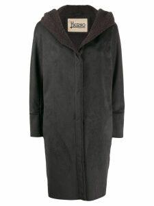 Herno faux shearling coat - Grey