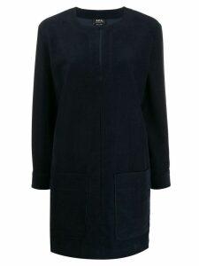 A.P.C. short shift dress - Blue