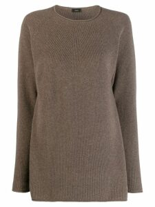 Joseph ribbed knit cashmere jumper - Brown