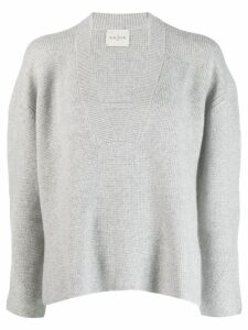 Le Kasha Moscow boxy fit jumper - Grey