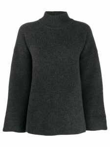 Le Kasha Antibes knit swing jumper - Grey