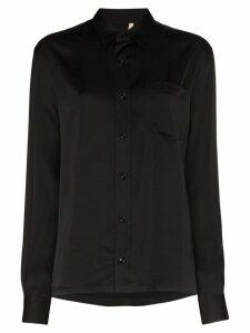 Sunflower Type buttoned shirt - Black