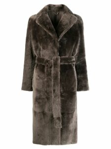 Desa 1972 belted trench coat - Grey