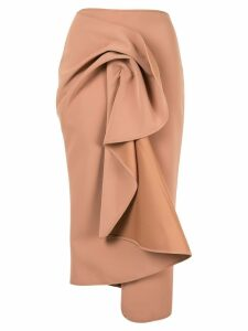 Acler Crawford skirt - Brown