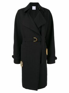 Acler Arbour trenchcoat - Black