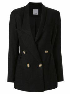 Acler Belvue blazer - Black