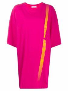 Artica Arbox oversized T-shirt dress - PINK