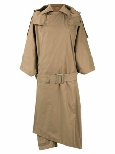 Toga Pulla oversize trench coat - Brown