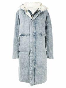 Toga Pulla layered padded coat - Blue