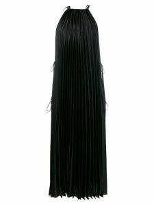 Stella McCartney Mildura pleated midi dress - Black