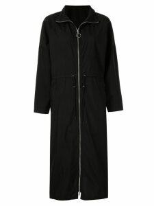 Le Ciel Bleu drawstring waist maxi dress - Black