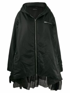 Barbara Bologna oversized padded coat - Black