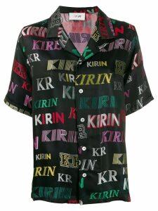 Kirin logo print shirt - Black