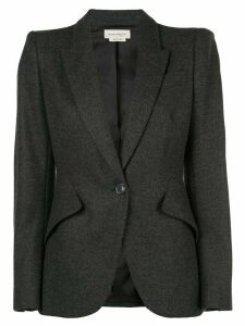 Alexander McQueen fitted blazer - Grey