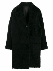 Drome midi shearling coat - Black