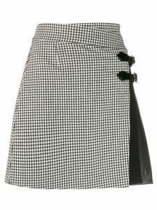 LIU JO wrap style skirt - Black