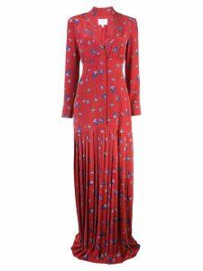 Rebecca De Ravenel paisley print maxi dress - Red