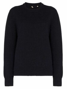 Sunflower Moon crew-neck jumper - Black