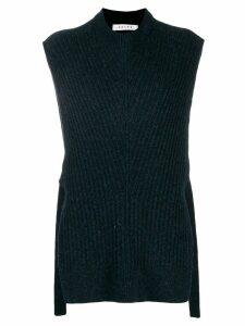 Falke knitted tabard - Blue