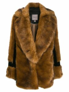 Urbancode faux fur coat - Brown