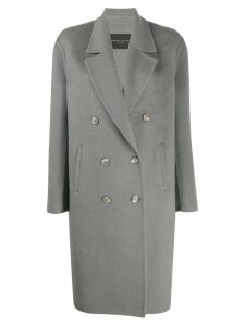 Fabiana Filippi double-breasted coat - Grey
