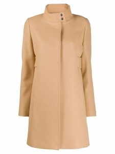 Liu Jo single-breasted midi coat - Neutrals