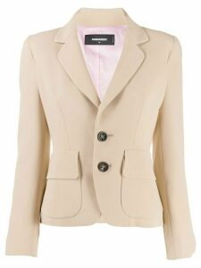 Dsquared2 smart tailored blazer - Neutrals
