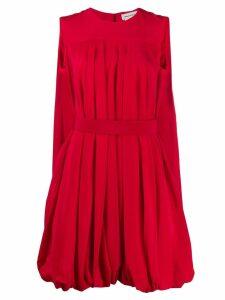 Alexander McQueen balloon short dress - Red