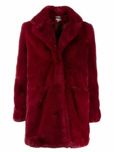 Apparis faux fur coat - Red
