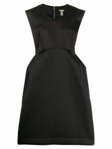 Comme Des Garçons oversized structured dress - Black