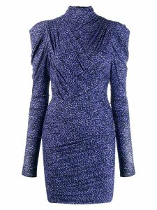 Isabel Marant Jisola fitted dress - Blue