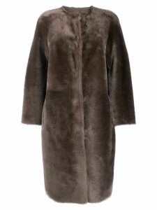 Desa 1972 shearling coat - Grey