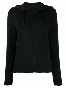Ecoalf zip up Aurkene sweater - Black