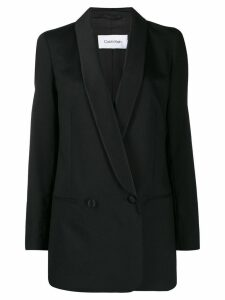 Calvin Klein double-breasted blazer - Black