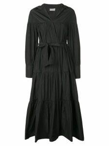Co gathered shirt dress - Black