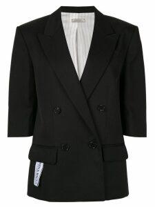 Nina Ricci classic double-breasted blazer - Black