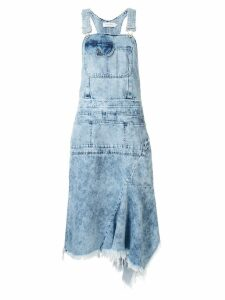 Marques'Almeida denim dungaree dress - Blue