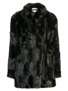 Apparis faux fur coat - Brown