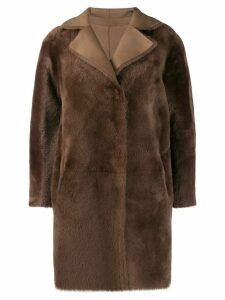 Desa 1972 shealing coat - Brown