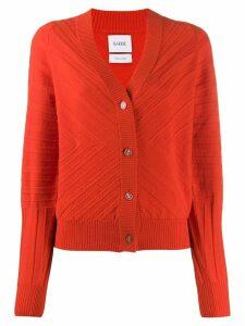 Barrie long sleeve cardigan - Orange