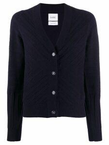 Barrie V-neck knit cardigan - Blue