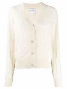 Barrie long sleeve cardigan - White