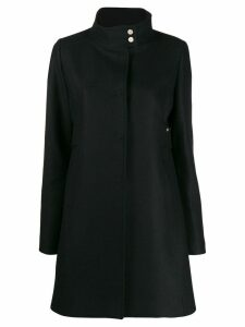 LIU JO single-breasted midi coat - Black